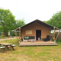 Glamping Holten luxe safaritent 2