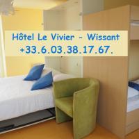 Hôtel Le Vivier WISSANT - Centre Village - Côte d'Opale - Baie de Wissant - 2CAPS, hôtel à Wissant