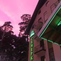 """Отель """"Семерка"""", hotel in Terskol"""