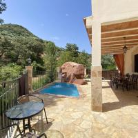 House with 5 bedrooms in Zambra with private pool furnished terrace and WiFi