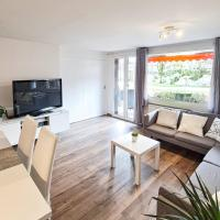Modern 4 room apartment with mountain view, hotel in Oberiberg