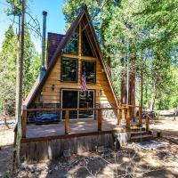 Cozy a-frame w/ updated kitchen & modern amenities