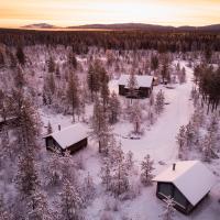 Polar Lights Lodge, hotel in Sirkka