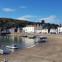 Stonehaven ground floor home with a spectacular harbour view.