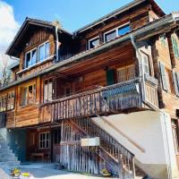 Beautiful Apartment in Vintage House in Kandersteg