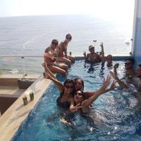 Surf beach View. Penthouse dúplex. Punta Hermosa, hotel in Punta Hermosa