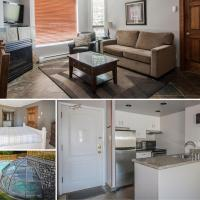 Ski In Ski Out Apartment with Pool and Hot Tub by Harmony Whistler