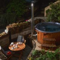 Swallows End - Apartment with hot tub, sauna and pool (Dartmoor)
