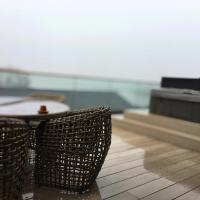 5 Luxury Lodge with beautiful views of the Taf Estuary