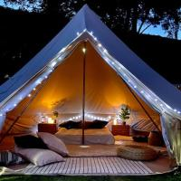 Experience our Luxurious Bell Tents in Cheshire