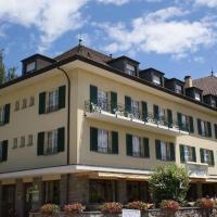 Châtonneyre Hotel & Restaurant, отель в Веве