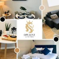 1 Bedroom City Apartment, Opulent Living Serviced Accommodation Cambridge