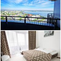 SkyTech Most City Hotel 19 floor PANORAMIC VIEW, отель в городе Днепр