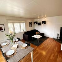 Modern and central apartment, 4 beds, free parking.