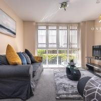 OnPoint- STUNNING 2 Bed, 2 Bath - Flat With Free Parking!