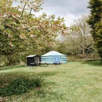 Alpaca yurt retreat