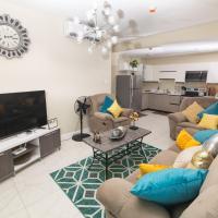 Luxurious 2 bed 2 bath apt in Kingston city center, hotel near Norman Manley International Airport - KIN, Kingston
