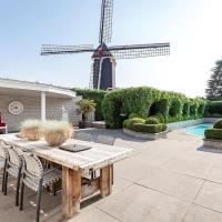 Spacious Luxury Holiday Home in Moergestel with swimmingpool and wellness