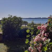 Vue mer avec jardin