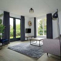 Broeckhuys Lakeview VIP bungalows 6P with Sauna aan het water met wijds uitzicht