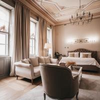 Rudolf-Ház Boutique Hotel & Apartment, hotel v Ostřihomi
