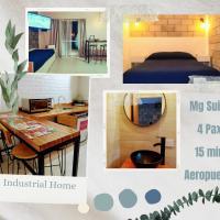 MG Suites - Industrial home - 15 min Aerop