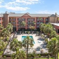 Beachfront Palms Hotel, hotel in Galveston