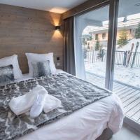 Luxueux appartement skis aux pieds , 10 personnes