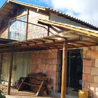 Chalé Córrego dos Bois-Linda Vista Vale do Capão, hotel in Palmeiras