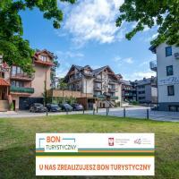 Willa Rubin i Szafir – hotel w mieście Krynica Morska