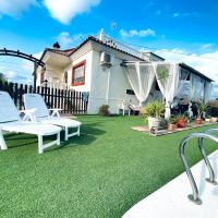Chalet en la huerta con zona de barbacoa y piscina privada, Murcia a 4 km., hotel in Murcia