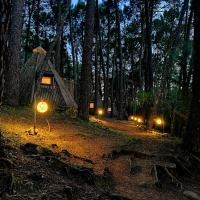 Glamping The Teepee