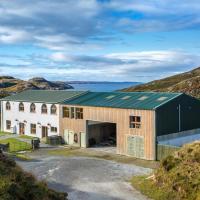 Kirkaig Lodge Swallows nest