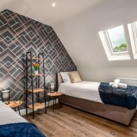 Contractor Modern New Build - FREE Parking - Staycation welcome by ComfyWorkers