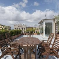 Rome East Panoramic View Flat with Terraces