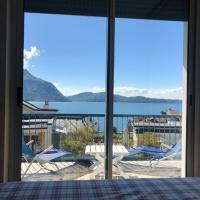 La mia finestra sul lago, hotel a Intra