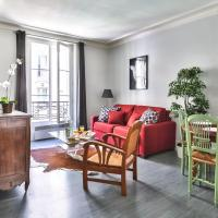 """Apartment with gorgeous view """"Eiffel Tower""""836"""