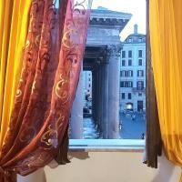 L'antica dimora con splendida vista sul Pantheon