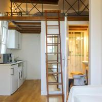Chatelet- Renewed central Studio with mezzanine