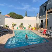 Duplex indépendant avec accès piscine, hotel in Vendargues