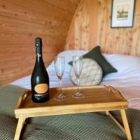 Hendre-Aur Luxury Glanping Pod