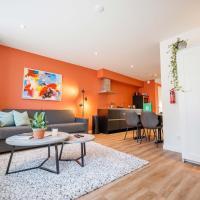 Trendy Design 55m2 Apartment with Balcony