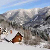 Romantische Ferienhütte Ennstaler Nat Kalkalpen bis 6 Personen