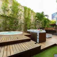 Apartamento com um maravilhoso deck no In Mare Bali por Carpediem