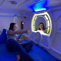 Space Night Capsule Hostel