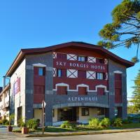 Sky Borges Hotel Alpenhaus - Centro Gramado