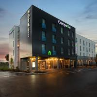 Campanile Smart Lyon Est - Eurexpo Bron Aviation、サン・プリエストのホテル