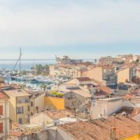 Cannes Stunning 3 BR flat with 50 sqm terrace overlooking the Bay & harbor