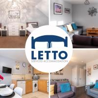4 Bedroom House at Letto Serviced Accommodation Peterborough Gateway, Roxhill -Free WiFi & Parking