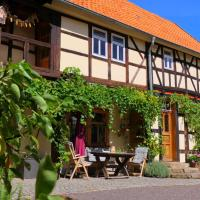 Historischer Ferienhof Schrön - Urlaub im Denkmal, отель в городе Laucha